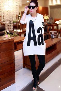 CT06835 Long long sleeve T-shirt autumn bottoming shirt for women