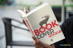 15 Photorealistic Paperback Book Cover Mockups | ZippyPixels