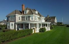 Nantucket, RI. This is a circa 1890 house situated perfectly on rolling lawn.