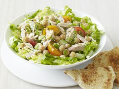 Mediterranean Tuna Salad Recipe : Food Network Kitchens : Food Network - FoodNetwork.com