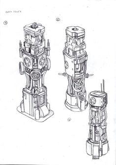 A_Clocktower_4 by TugoDoomER.deviantart.com on @DeviantArt