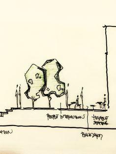 #Landscape #section #design Doruk