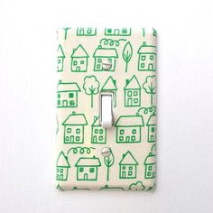 fabric covered light switches. {to do}