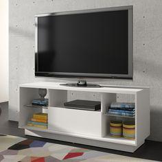 """Gostou desta Rack para TV Até 50"""" Br 281-06  Branco - Brv Móveis, confira em: https://www.panoramamoveis.com.br/rack-para-tv-ate-50-br-281-06-branco-brv-moveis-7089.html"""