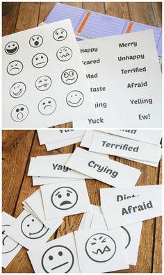 Emotions Sorting Free Printables
