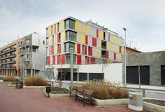 Built by ONL Arquitectura in Granollers, Spain with date 2006. Images by José Hevia. The architectural strategy used has been to create a building whose exterior is defined by a language that seeks abs...