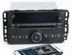 Chevy Impala 2009-2013 AM FM CD Player Radio w Bluetooth Music 22804479 UNLOCKED
