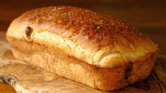 Pão Doce de Fubá - Receitas e Dicas do Chef