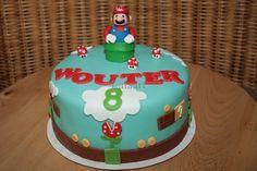 Super Mario Verjaardagstaart..