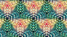 Download Wallpaper 1920x1080 kaleidoscope, patterns, colorful, shape ...