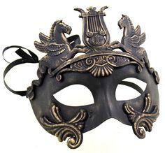Mythological Greek Style Mask for Masquerade