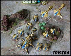 PHR by Tristan Sci Fi Miniatures, Painting Competition, Drop Zone, Wargaming Terrain, Warhammer 40k, Legos, Tabletop, Scale, Army