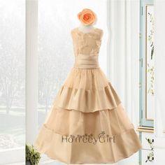 F13 Flower Girl Dresses,A-line Flower Girl Dresses,Satin Flower Girl Dresses,Kids Birthday Party Dress,Girl's Party Dress,Lovely Flower Girl Dress,Handmade Flower Girl Dresses,Floor-length Flower Girl Dress