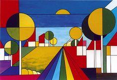 kubisme landscape - Google zoeken