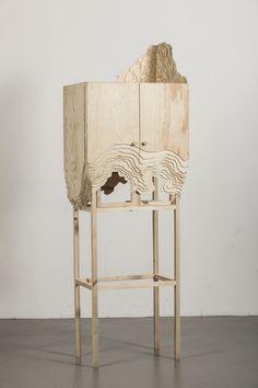 A cupboard par Lisa Berkert Wallard // Projet Is this it ? Entre Design et Magie