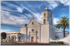 San Luis Rey Mission, Oceanside, CA. A California Mission is my ideal spot for a wedding ceremony.