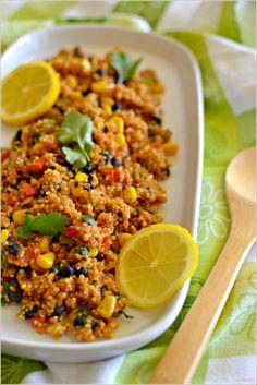 Sweet my Kitchen: Quinoa Mexicana
