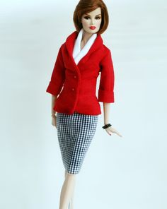 Suit for Barbie Silkstone & Fashion Royalty by ChicBarbieDesigns
