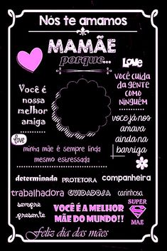 Picsart, Chalkboard, Scrapbook, Lettering, Mom, School, Prints, Life, About Mother
