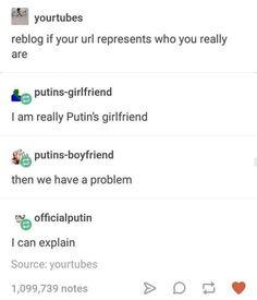 You in trouble Putin