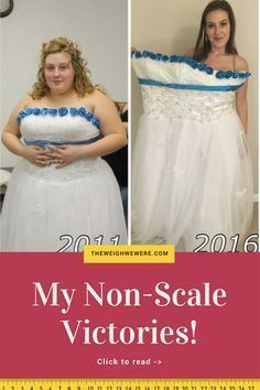 Read her non-scale victories and transformation success story! Before and after fitness motivation and beginner tips from women who hit their weight loss goals and got THAT BODY with training and meal prep. Learn their workout tips get inspiration! | TheWeighWeWere.com #weightlossbeforeandafterstories