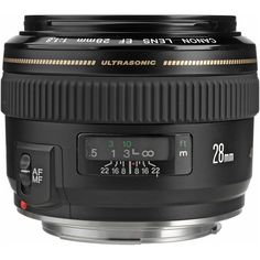 Canon EF 28mm f/1.8 USM Wide Angle Lens for Canon SLR Cameras  Only one of the lenses