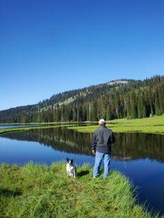 Fly fishing in Idaho - breathtaking
