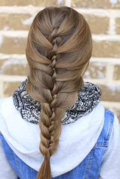 Twist Braid Cute Girls Hairstyles
