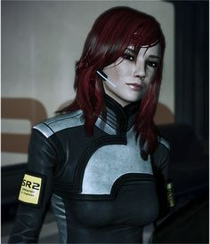 when does shepard ever look like this? cause its not in any of my games...