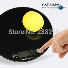 Venta caliente navidad 5 kg cocinas electrónico torta balanza de cocina herramientas de cocina fruit alimentos botón táctil escala de peso