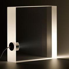 Yamagiwa ToFU Table Lamp by Tokujin Yoshioka