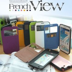 Galaxy Alpha French Bumper Ultra Protective View Cover