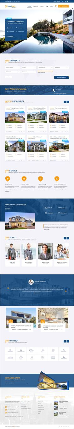 Landmark is a versatile and visually stunning 6in1 #WordPress Theme for #property listing #portal, as well as agent and real estate agency's website download now➩ https://themeforest.net/item/landmark-real-estate-wordpress-theme/18614325?ref=Datasata