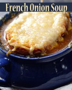Try This French Onion Soup That Was Inspired By Julia Child