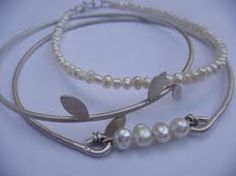 lia abrahamse - Google Search Bangles, Bracelets, Pearl Necklace, Jewels, South Africa, Silver, Jewellery, Google Search, String Of Pearls