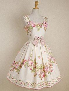 Mary Magdalene - Mille Rose dress     http://lolibrary.org/node/8050