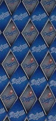 MLB Los Angeles LA Dodgers Baseball Tie