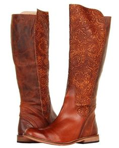 Lucchese Women's Virginia Boot - Luggage