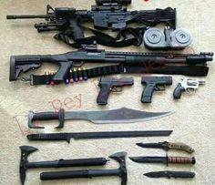 Image result for badass guns
