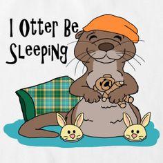 I Otter Be Sleeping Romper | Otter Things