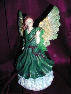 ANGELS ANGEL PRETTY FIGURINE  CLOUD NEW CERAMIC NICE  http://stores.ebay.com/store4angels?refid=store come see our store front always have great sales