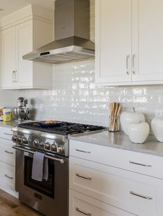 Kitchen Lower Level First Floor Second Floor View products in this room: Classic Kitchens & Interiors – Kitchen Island Cabinets Brookhaven I, Edgemont Recessed with #520 Shadow Gray Finish On Maple. Ideal Floor Covering – Backsplash- Masia Gris Claro 3×12...