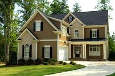 Exterior Paint Colors for House Exterior House Painting Ideas – Give Your Home the Complete Look Exterior Paint Colors for House. House painting does not mean only creating fabulous interiors… Best Exterior Paint, Exterior Paint Colors For House, Paint Colors For Home, Exterior Colors, Exterior Design, Exterior Siding, Siding Colors, Shingle Siding, Exterior Homes