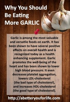 Why You Should Be Eating More Garlic infographic health - Health Plus - Diet Plans, Weight Loss Tips, Nutrition and Health Plus, Health Diet, Health Eating, Get Healthy, Healthy Tips, Healthy Food, Health And Wellbeing, Health Benefits, Spa