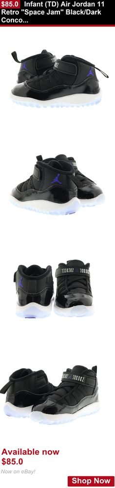 Baby girls clothing shoes and accessories: Infant (Td) Air Jordan 11 Retro Space Jam Black/Dark Concord-White 378040-003 BUY IT NOW ONLY: $85.0