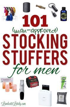 113 Best Stocking Stuffer Ideas For Men Images Christmas Presents