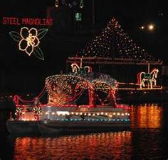 I live here.  Christmas in Natchitoches.  Everyone should visit just once for the Natchitoches Christmas Festival!!!