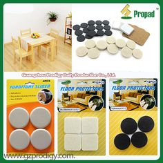 #Pad/Adhesive Pad/Floor Protector/Furniture Slider, a easy way to protect your hardwood floor and heavy furniture from damages, attrition. Keep floor healthy and safety. For more furniture accessories in http://www.gzprodigy.com/
