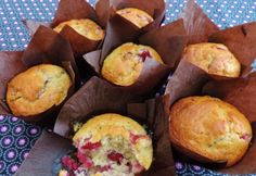 Cranberry Pecan muffin