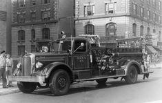 FDNY Engine 67 1941 Mack Pumper.